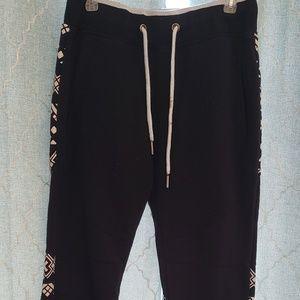 Tribal print sweat pants